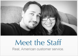Meet the Staff: Real, American customer service